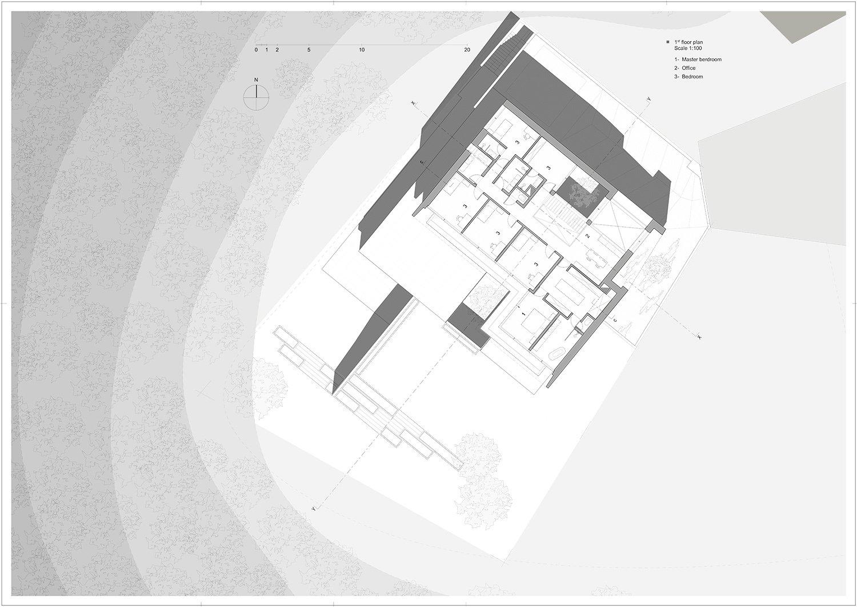 upper floor Rodolphe Mertens Architects}