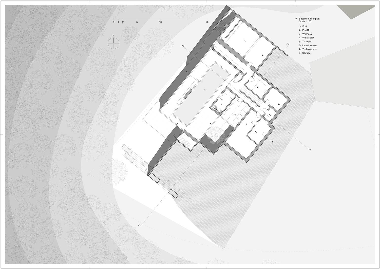 basement floor Rodolphe Mertens Architects}