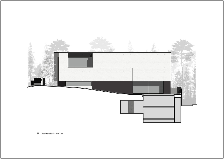 northeast facade Rodolphe Mertens Architects}