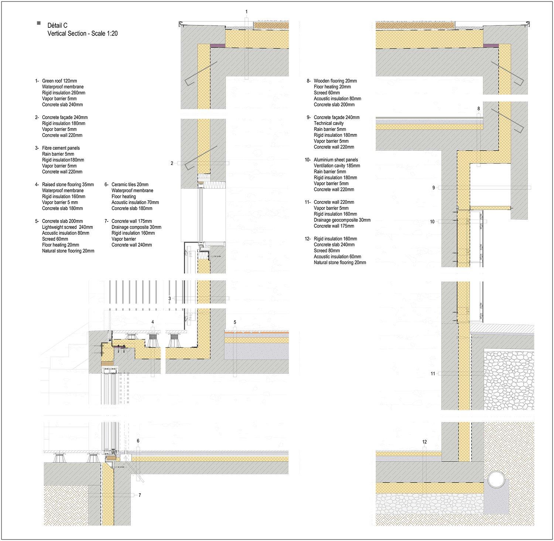 Rodolphe Mertens Architects 140 Weidendall Construction Of A Single Family Villa
