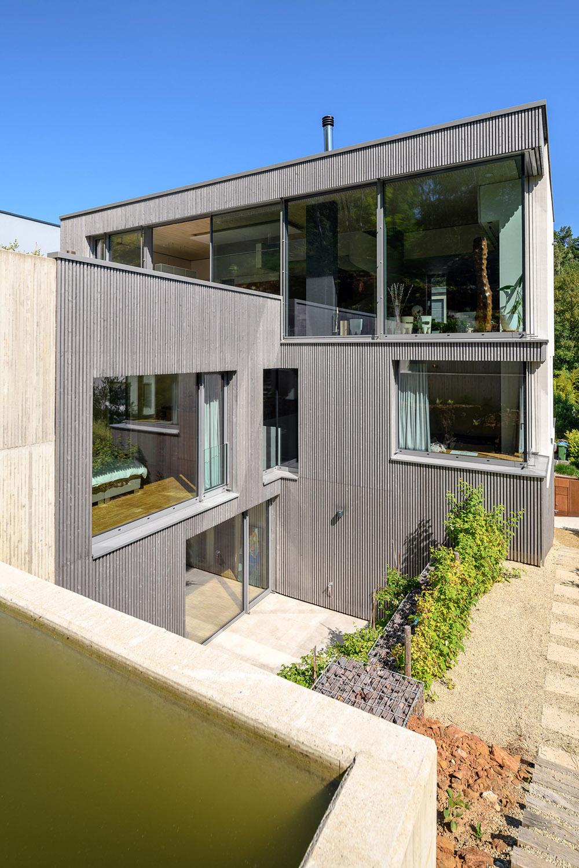 View of the East Side Julien Swol for Beng Architectes Associés