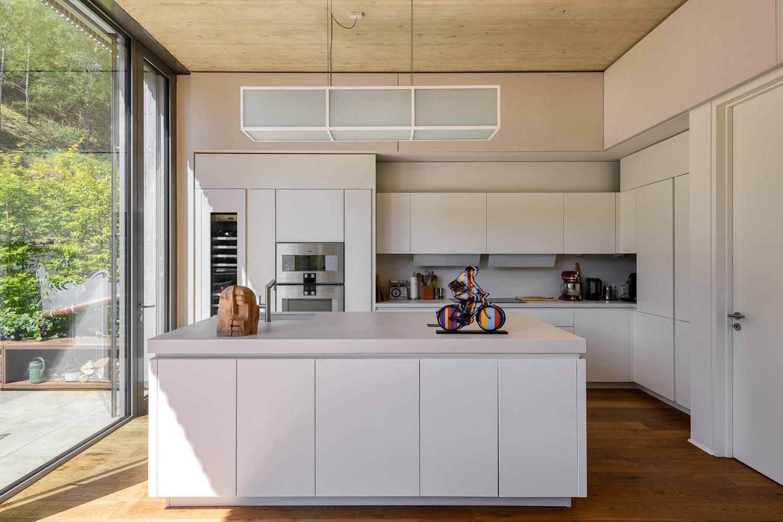 View of the kitchen Julien Swol for Beng Architectes Associés