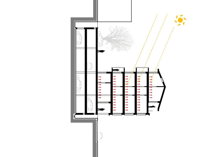 Schema riscaldamento invernale Frigerio Design Group}