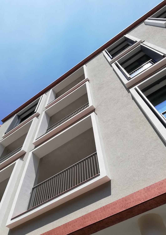 Dettaglio della facciata principale Frigerio Design Group