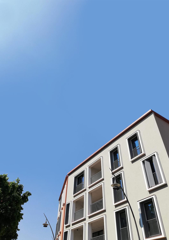 Il nuovo complesso residenziale da Via G. Verdi Frigerio Design Group