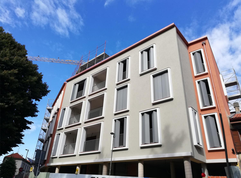 Il nuovo complesso residenziale a Saronno Frigerio Design Group