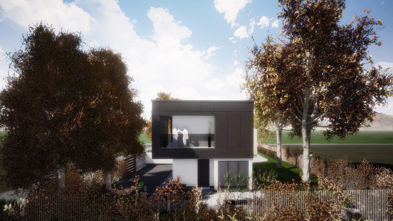 Render prospetto Nord photo © 2020 by GBa Lab direttore Riccardo Brini con GBA Studio srl / Gianluca Brini - Architetto Bologna - Via Andrea C