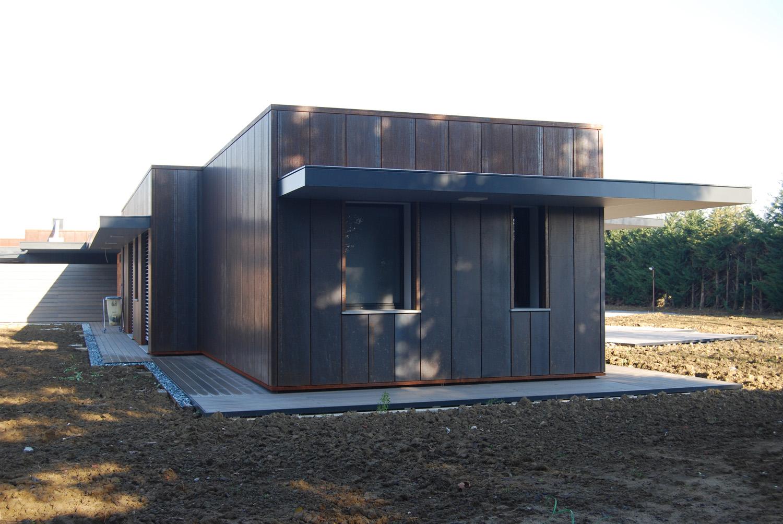 Vista esterna_fase di cantiere photo © 2020 by GBA Studio srl / Gianluca Brini - Architetto Bologna - Via Andrea Costa 202/2 http://www.gbastudio.it/