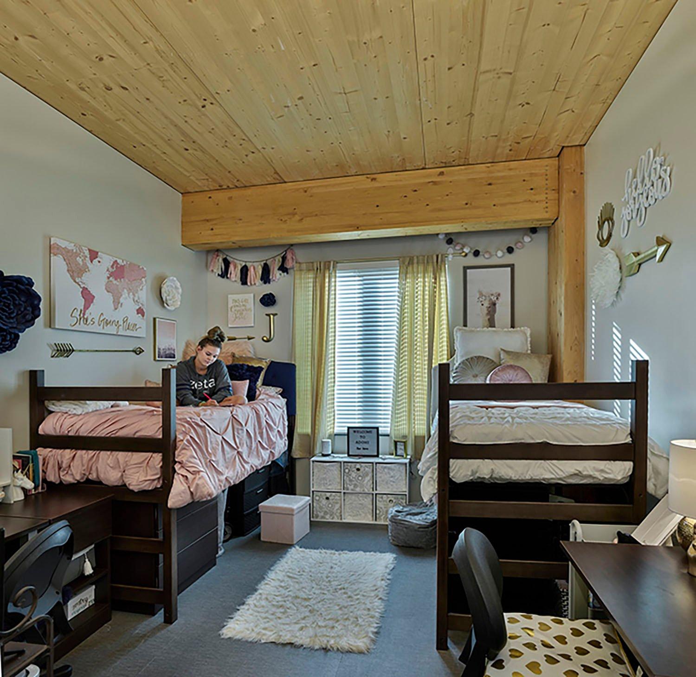 View of Dorm Room Tim Hursley Photography