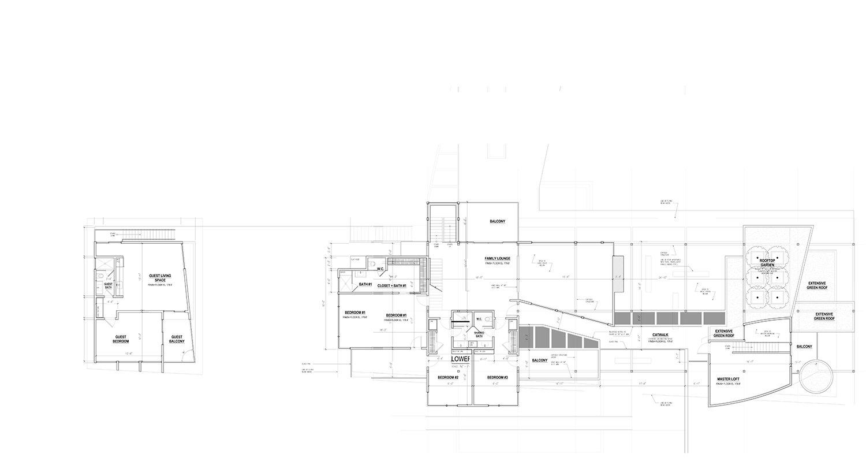 Second Floor Plan Sketch}