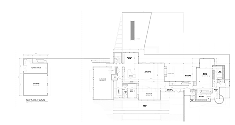 First Floor Plan Sketch}