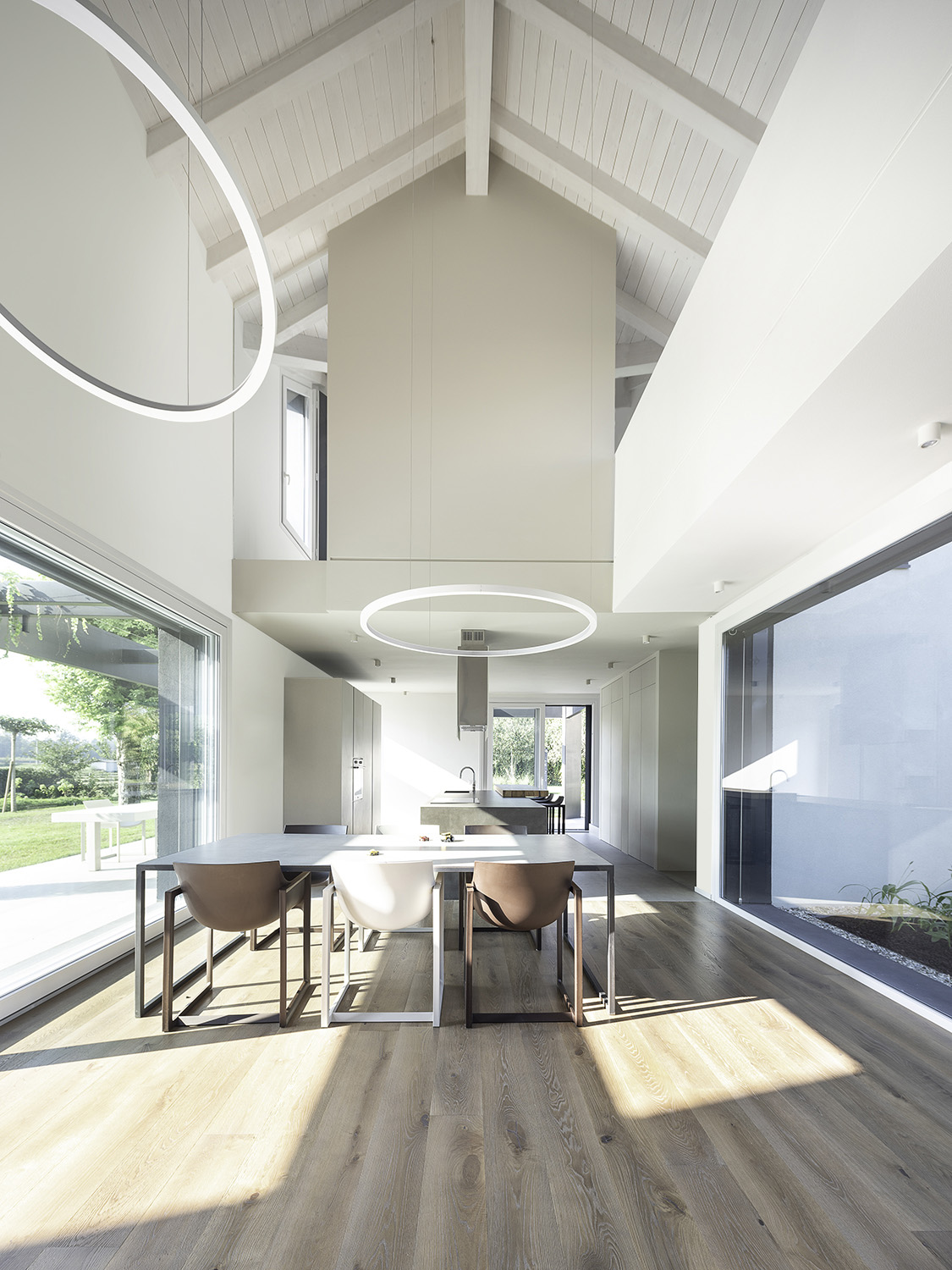 Hollow Space - Dining Room Living Room Filippo Poli Photography