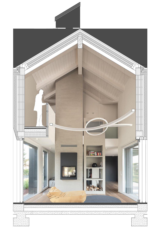 Cross Building Section - Detail NAT OFFICE - christian gasparini architect}