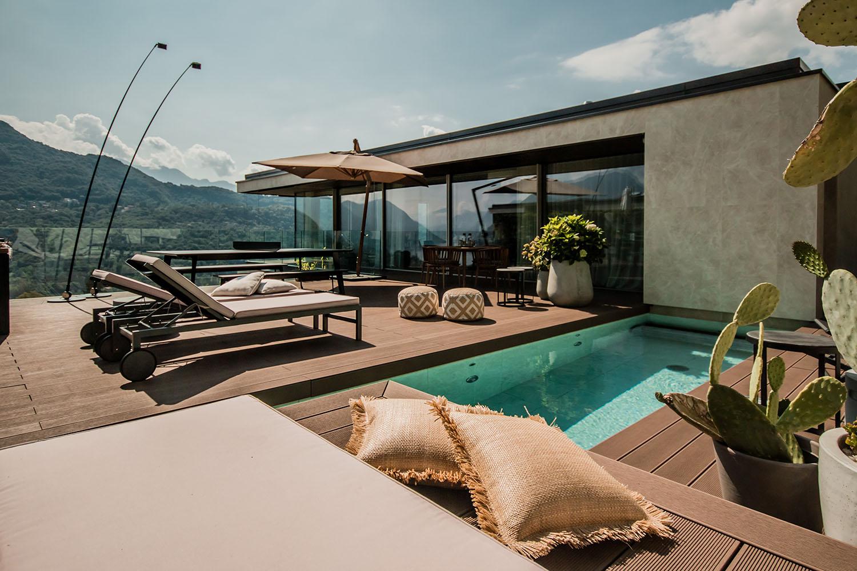 Private terrace Giacomo Carena}