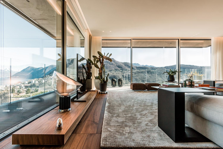 Interior design view Giacomo Carena