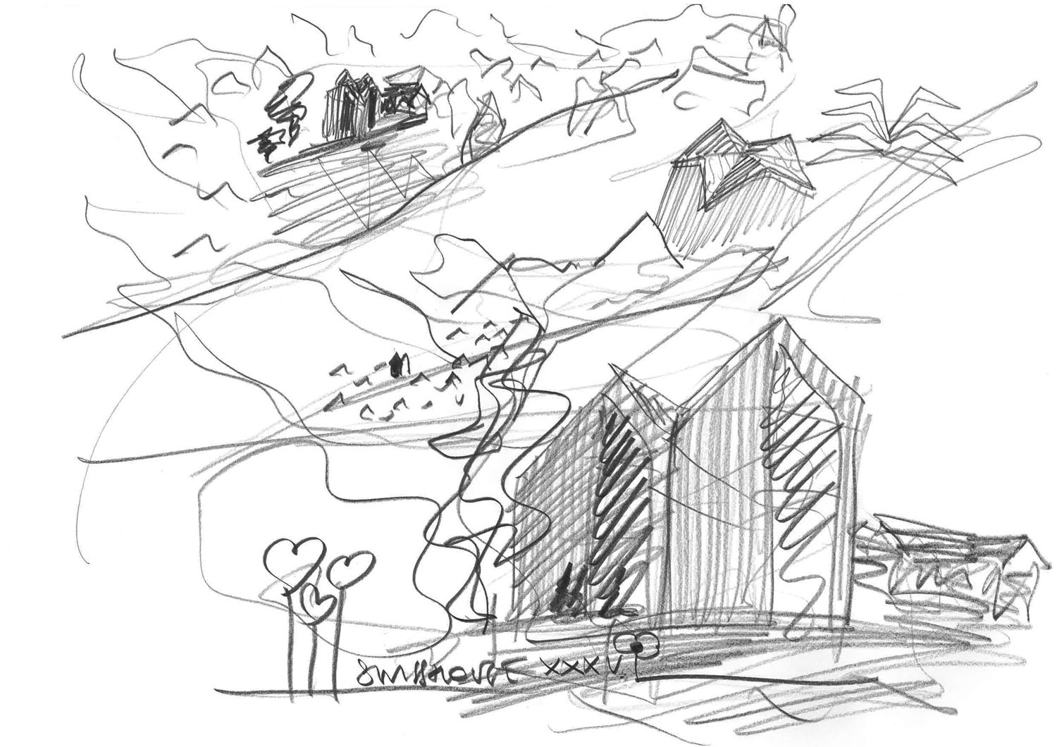 Sketch Davide Macullo Arhcitects}