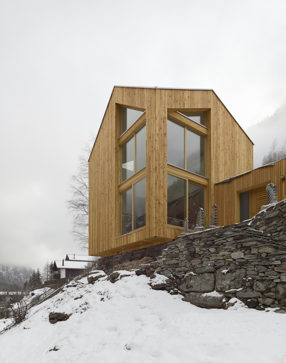 Swisshouse XXXV_North-East view Fabrice Fouillet