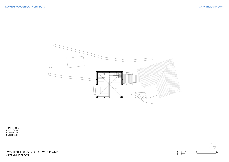 Mezzanine floor Davide Macullo Arhcitects}