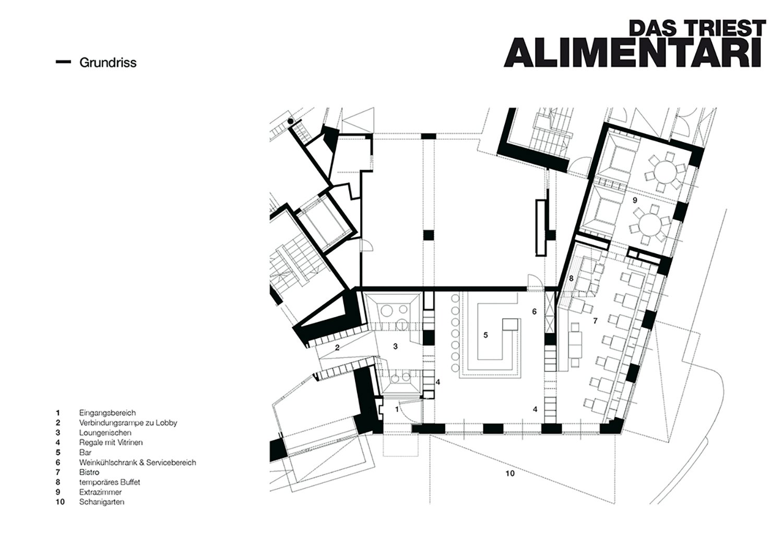 Hotel Triest Floor Plan BEHFArchitects}