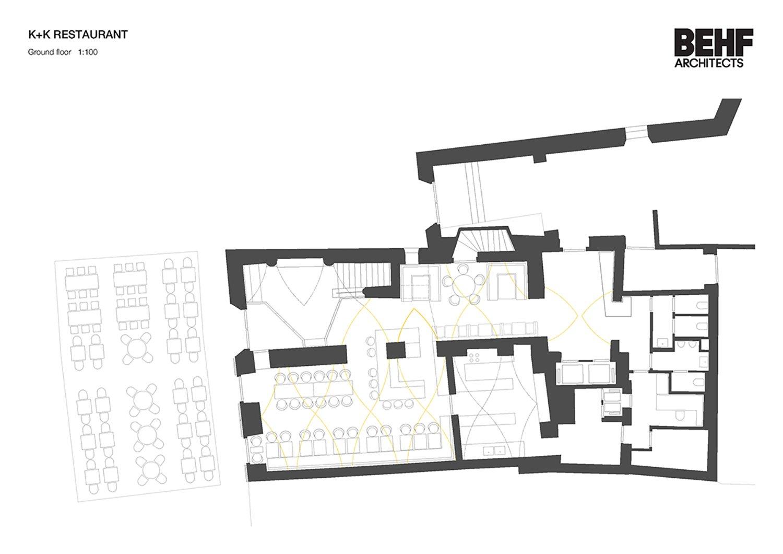 Restaurant Koller und Koller am Waagplatz Ground Floor BEHF Architects}