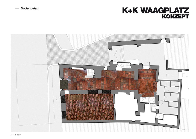 Restaurant Koller und Koller am Waagplatz Design Fooring BEHF Architects}