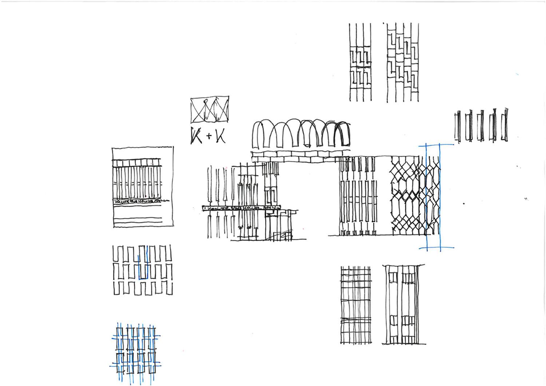 Restaurant Koller und Koller am Waagplatz Sktech BEHF Architects}
