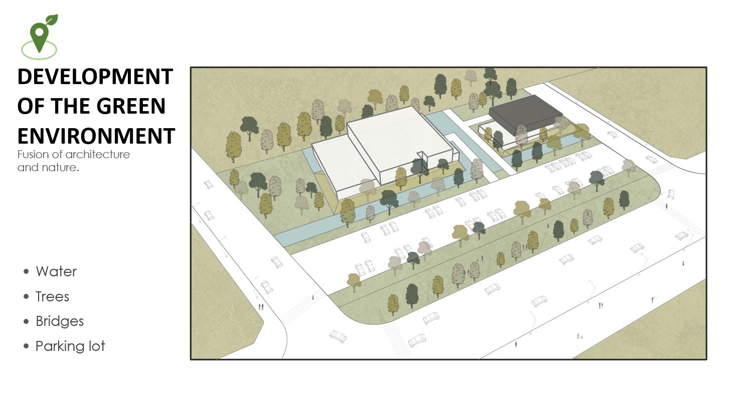 DEVELOPMENT OF THE GREEN ENVIRONMENT Chain10 Architecture & Interior Design Institute}