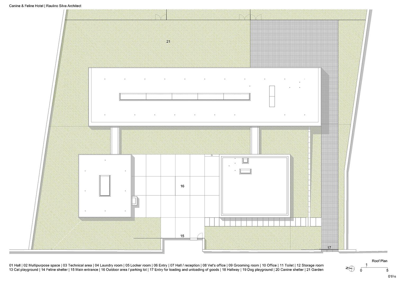 Roof Plan Raulino Silva Architect}