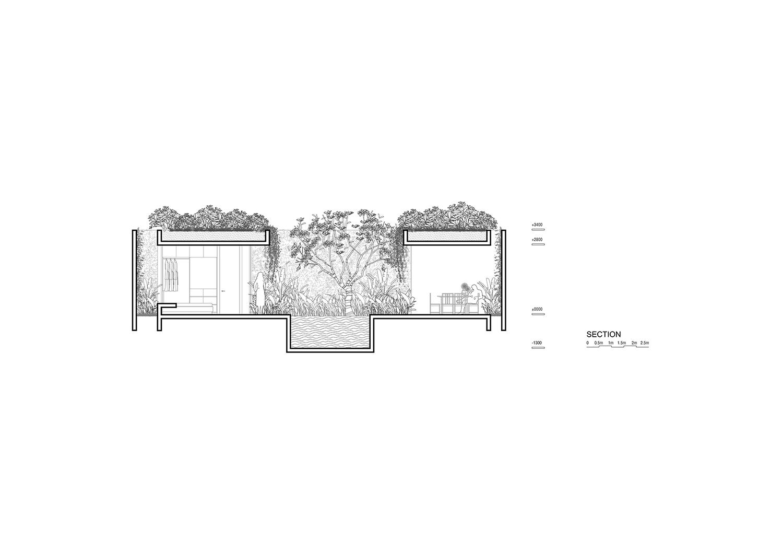 Section for 2-bedroom villa Nguyen Tan Phat}