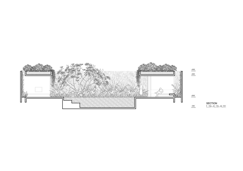 Section for 3-bedroom villa Nguyen Tan Phat}
