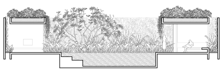 Section for 3-bedroom villa_2 Nguyen Tan Phat}