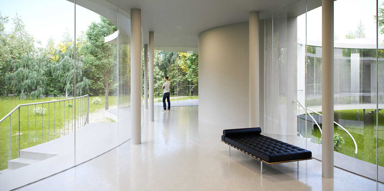 Lobby interior Eco Arch-Viz Studio