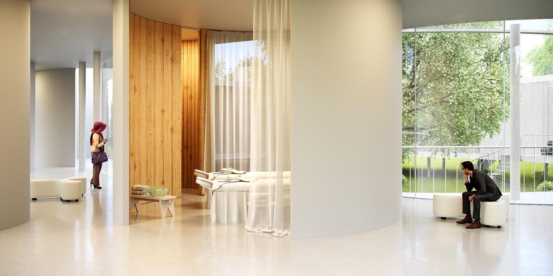 Spa and Sauna Eco Arch-Viz Studio