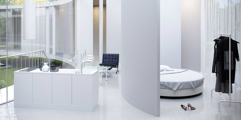 Bedroom Eco Arch-Viz Studio