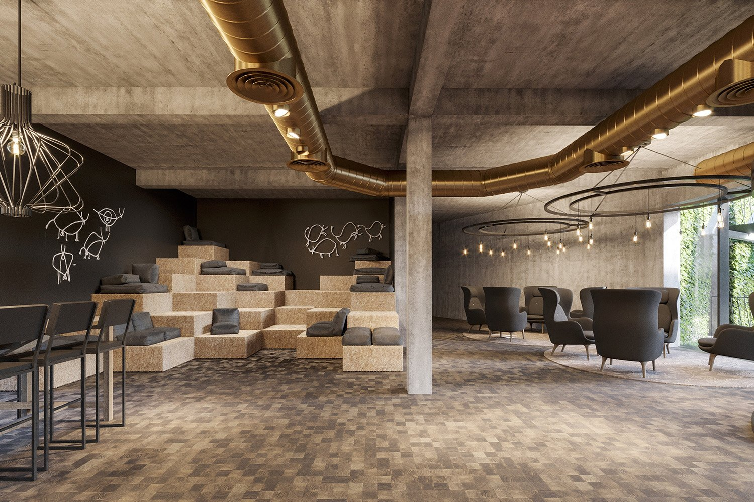 enota maestoso hotel & spa 10 Studio Spacer (visualisations)}
