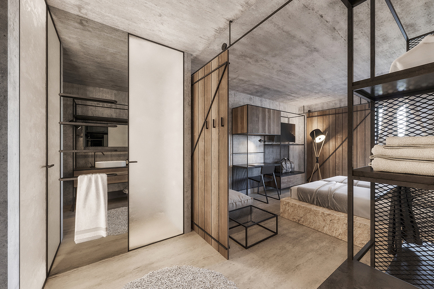 enota maestoso hotel & spa 10 Studio Spacer (visualisations)