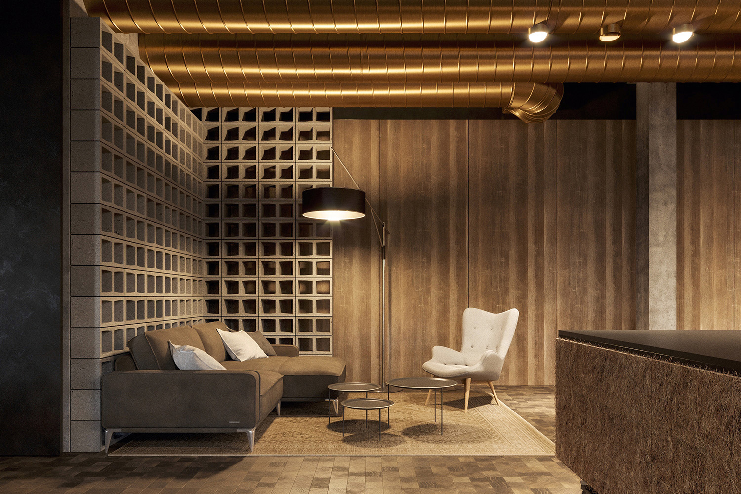enota maestoso hotel & spa 12 Studio Spacer (visualisations)