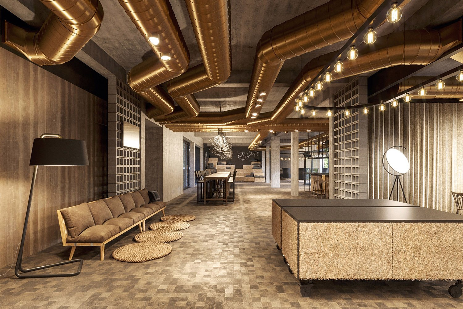 enota maestoso hotel & spa 13 Studio Spacer (visualisations)}