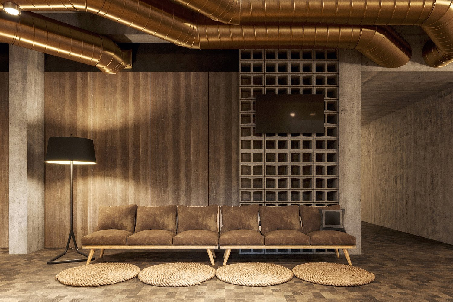 enota maestoso hotel & spa 14 Studio Spacer (visualisations)}