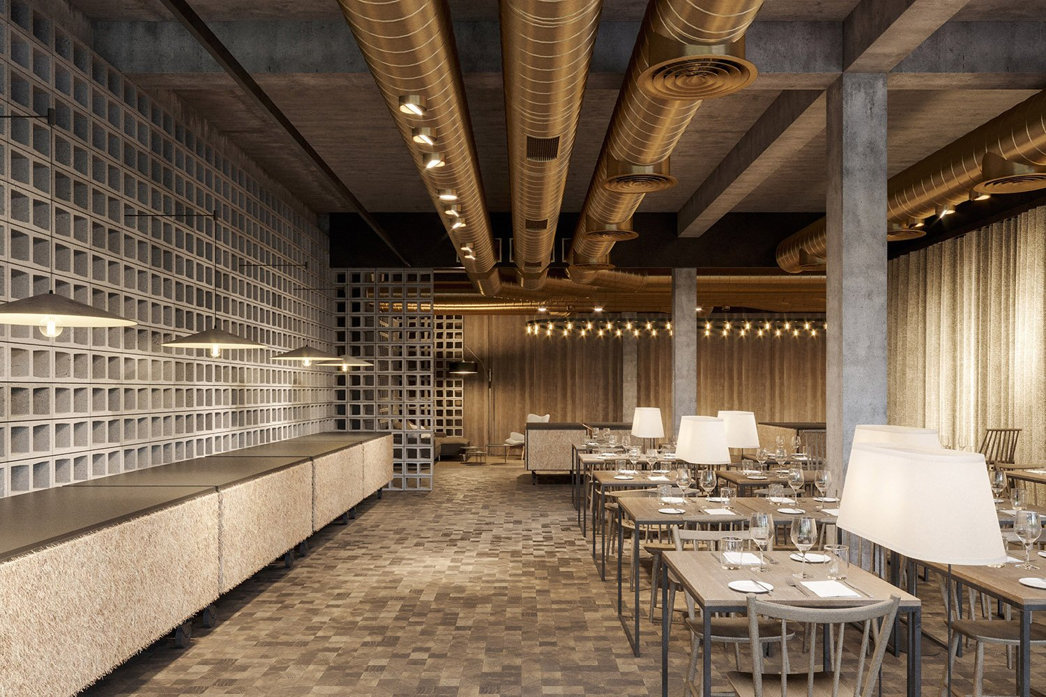 enota maestoso hotel & spa 15 Studio Spacer (visualisations)}