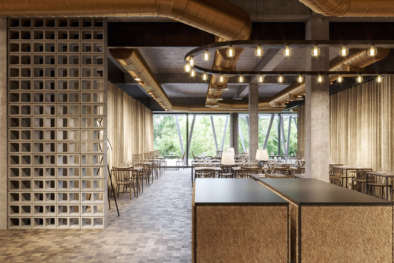 enota maestoso hotel & spa 16 Studio Spacer (visualisations)}