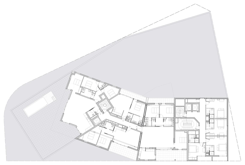 FLOOR 7 PLAN MANUELLE GAUTRAND ARCHITECTURE}