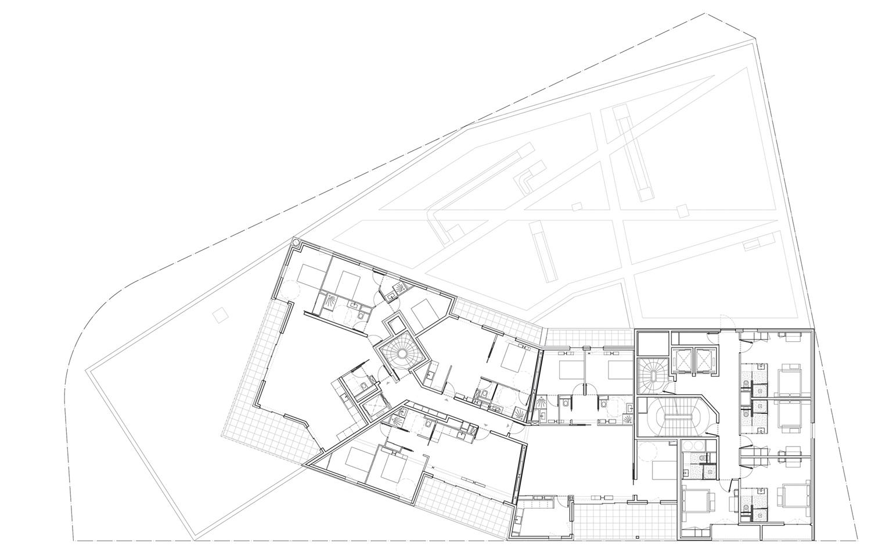 FLOOR 8 PLAN MANUELLE GAUTRAND ARCHITECTURE}