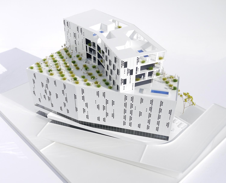 MODEL 1 MANUELLE GAUTRAND ARCHITECTURE}