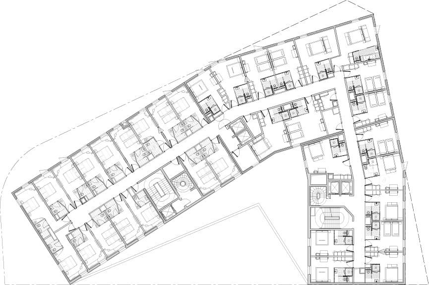 FLOOR 4 PLAN MANUELLE GAUTRAND ARCHITECTURE}