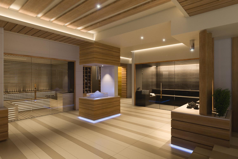 Rendering - Spa Studio D73}