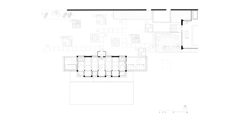 Piano terra - galleria noa* network of architecture}
