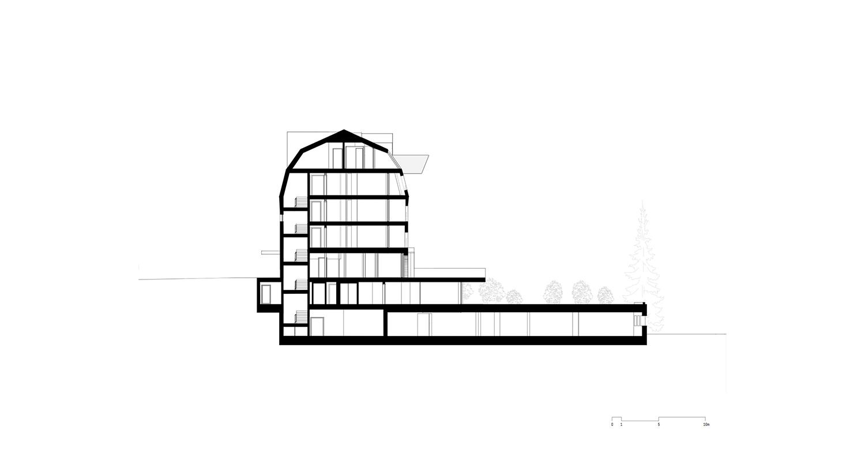 Sezione BB noa* network of architecture}