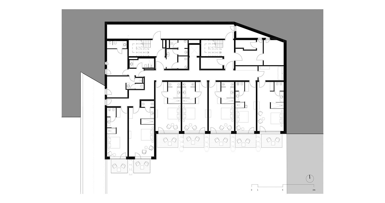 Piano -1 - Camere noa* network of architecture}