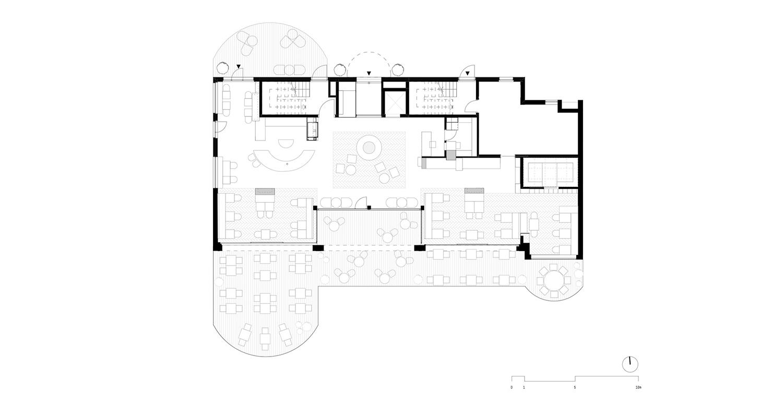 Piano 0 - Lobby e ristorante noa* network of architecture}